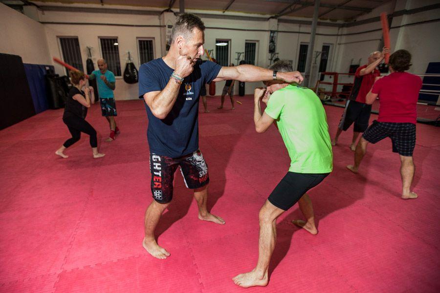 Osobní trénink Thaiboxu